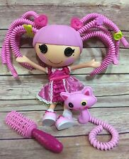LALALOOPSY Jewel Sparkles Silly Hair Full Size With Pet Cat And Hair Accessories