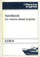 Perkins 4.236M Marine Diesel Engine Operators Manual