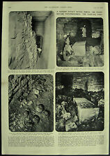 Vintage Archaeology Sakkara Find Funerary Boat Of Cheops 2 Page Article 1954