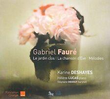 Faur': Le jardin clos; La chanson d'Eve; M'lodies (CD, Nov-2009, Zig Zag...