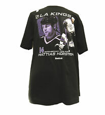 New Reebok Los Angeles Kings Mattias Norstrom #14 96'-07' T Shirt NHL Sz XL C40