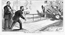 ULYSSES S. GRANT BOWLING KEEP THE BALL ROLLING CAMPAIGN SONG THOMAS NAST NEGRO