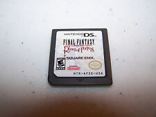 Final Fantasy Crystal Chronicles Ring of Fates (Nintendo DS) Lite DSi XL Game
