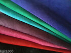 Soft Silky Pig Suede Skins Hides Black Pink Red Blue Purple Sewing Leather Craft