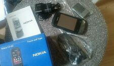 Nokia  C2-02 - Schwarzer Chrom (Ohne Simlock) Handy