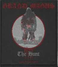 GRAND MAGUS the hunt 2012 - WOVEN SEW ON PATCH official merchandise