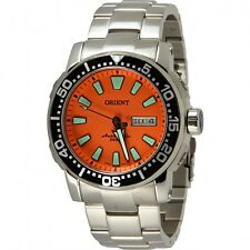 Orient Diver Automatic Poseidon Orange 469SS040 O1SX from Brazil Men's