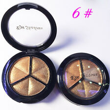 Smoky Makeup 3 colors natural matte eyeshadow Metallic eye shadow palette Naked