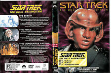 Star Trek:The Next Generation-TNG:19-1987/94-TV Series USA-3 Episodes-DVD