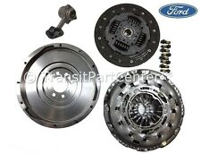 SOLID FLYWHEEL GENUINE FORD CLUTCH & CSC TRANSIT MK7 2.2 5 SPEED 2006 ONWARD