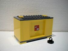 LEGO® Eisenbahn Container gelb  für 3677, 7898, 7938, 7939 - City - NEU 2