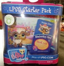 Littlest Pet Shop Online LPSO Web Game Starter Pack Woolma O Chic Sheep