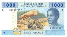 Central African States (A) Gabon 1000 Francs 2002 Pn 407 Aa.1 Unc