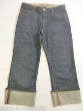 GAP KIDS Girls Indigo Blue Denim Cropped Capri Jeans Age 16 years