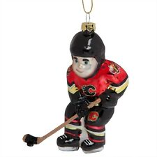 Calgary Flames - Hockey Player Christmas Ornament