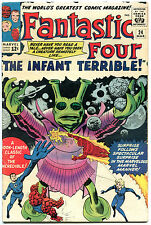 FANTASTIC FOUR #24, FN, Infant Terrible, Jack Kirby, 1961, more FF in store, QXT