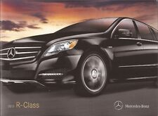 2012 12  Mercedes Benz  R  Class  Original  brochure