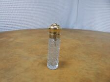 Vintage! Very Rare! I.H. Angel Face Sterling Silver/Cut Glass Perfume Bottle