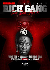 "Young Thug, Birdman, Rich Homie Quan DVD- ""Rich Gang: The Tour Pt 1""- DVD.."