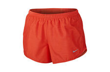 New Women's Nike Dri-Fit Modern Tempo Running Shorts Size 10 Small  Red