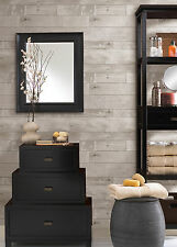 WALLPAPER BY THE YARD 347-20131 Heim Distressed Brown Grey Wood Panel Lodge Wall