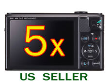 5x Clear LCD Screen Protector Guard Film For Canon PowerShot SX610 HS / SX6