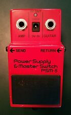 MIJ '84 Power Supply BOSS PSM-5 Guitar Pedal JAPAN Vintage MASTER SWITCH