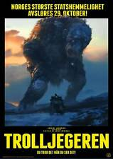 THE TROLL HUNTER Movie Promo POSTER German Otto Jespersen Hans Morten Hansen