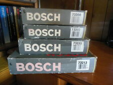 NOS Lot Of Four Bosch Round Style Air Filters (73300, 73202, 73233 & 73213)