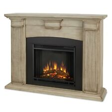 Real Flame Adelaide Electric Fireplace- Dry Brush White - 7920E-DBW NEW