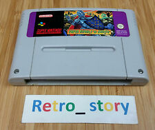Super Nintendo SNES Super Ghouls 'N Ghosts PAL