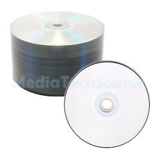 100 Pack Professional Grade Blank White Top 16X Blank DVD-R Disc Media 4.7 GB