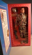 "NRFB GI JOE 12 "" Action Marine World War II Commemorative  1995  (Black Hair)"