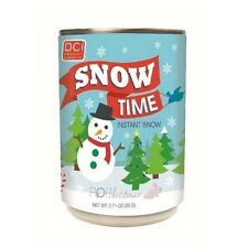 DCI SNOW IN A CAN INSTANT SNOW CHRISTMAS TREE NEW YEAR SANTA FUN GIFT IDEA