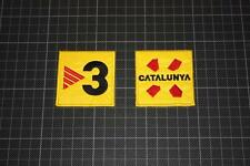 SPANISH BARCELONA CATALUNYA and TV3 BADGES 2005-2006