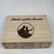 Fishing Tackle/Float Box With 10 Floats Personalised Gift For Him Fathers Day