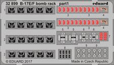 Eduard PE 32899 1/32 Boeing B-17E/F Flying Fortress Bomb rack details HK Models