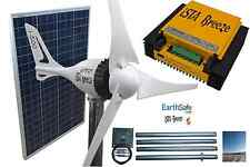 Set viento generador i-500 plus 12v, + solar 200w, regulador de carga + Tower, ista Breeze ®