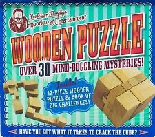 Professor Murphy's Wooden Puzzle: Over 30 Mind-Boggling Mysteries! by Parragon (