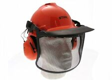 Genuine Stihl Birch CASCO Set con Orecchio difensori e anti-dazzle VISIERA