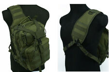 Men's One-Shoulder Bag/Backbag Tactical Utility Gear Sling Bag Backpack