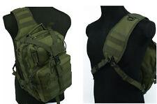 Men's One-Shoulder Bag/Backbag Tactical Utility Gear Sling Bag Backpack