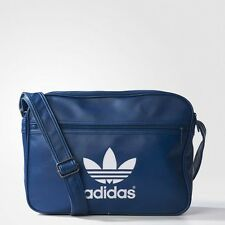 NUOVO Adidas Originals Airliner Borsa/Messenger Bag/da Schoolbag/unisex/Navy