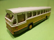LION CAR 38 DAF CITYBUS - WEST NEDERLAND - YELLOW 1:50 -  GOOD CONDITION