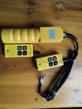 F21-2S/ZK Double Emitter Hoist Crane Radio Wireless Remote Control AC 220V