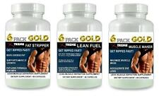 6 Pack Fat Burner Lean Muscle Growth Builder Pills Abs Bodybuilding  X Energy