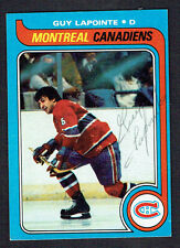 Guy Lapointe #135 signed autograph auto 1979-80 Topps Hockey Trading Card