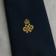 QUEEN'S AWARD EXPORT LOGO TIE VINTAGE  CREST 1970s 1980s CLUB ASSOCIATION