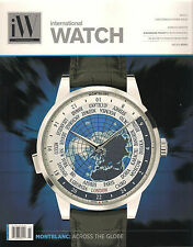 iW INTERNATIONAL WATCH Complications Issue February 2015 Montblanc Geneva Seiko