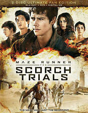 Maze Runner: The Scorch Trials (Blu-ray Disc, 2015, 2-Disc Set, Includes...